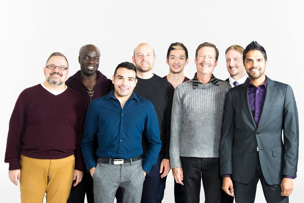 Forte the Gay Men's Chorus – Tenor 1's (Photo: Motion and Still Inc.)