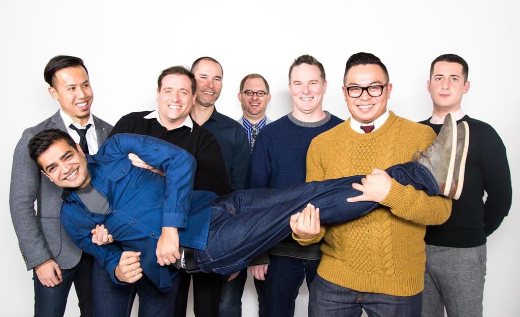 Forte the Gay Men's Chorus – Baritones (Photo: Motion and Still Inc.)