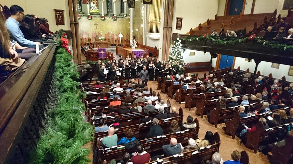 That Choir at Andrew's Presbyterian Church. (Photo: Brian Chang)