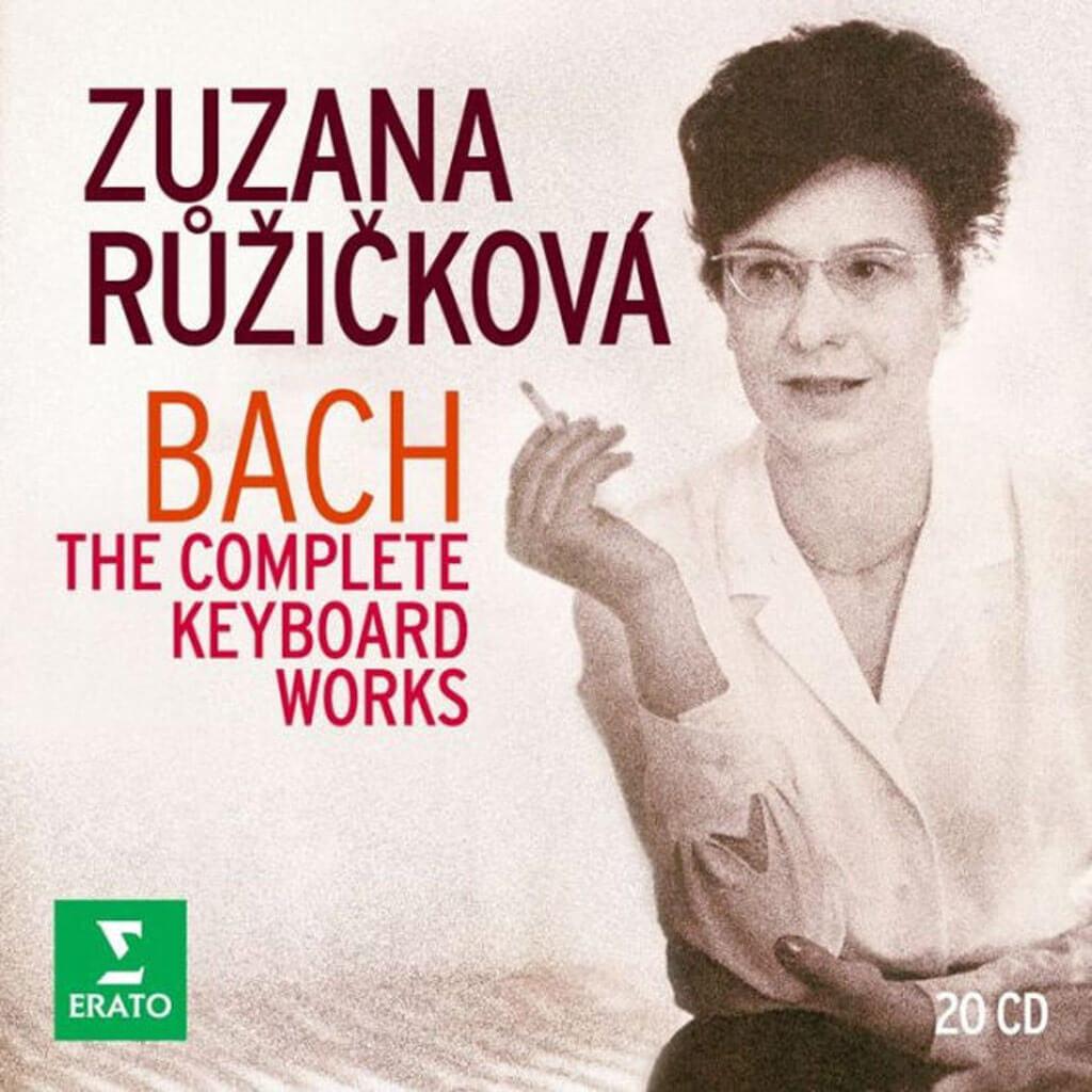 Zuzana Ruzicková | Bach: The Complete Keyboard works. (Erato)