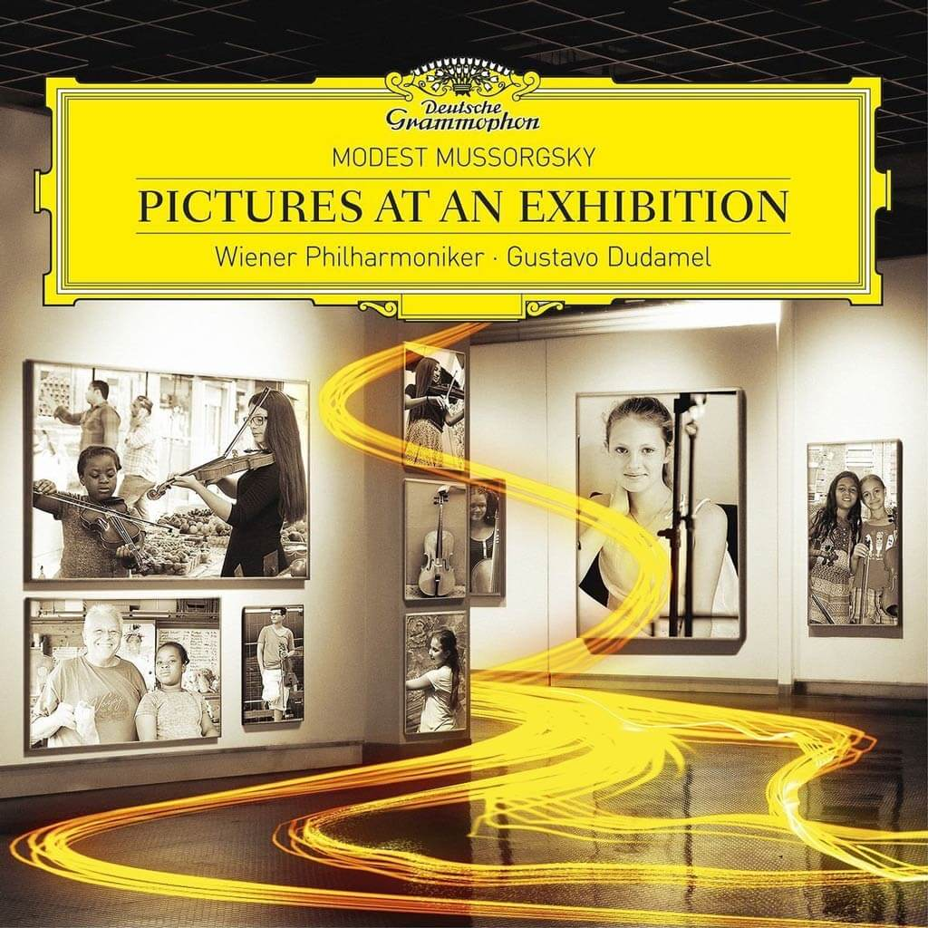 MUSSORGSKY-RAVEL: Pictures at an Exhibition. MUSSORGSKY: Night on Bald Mountain. TCHAIKOVSKY: Swan Lake: Waltz. Vienna Philharmonic/Gustavo Dudamel. DG 479 6297. Total Time: 50:51.
