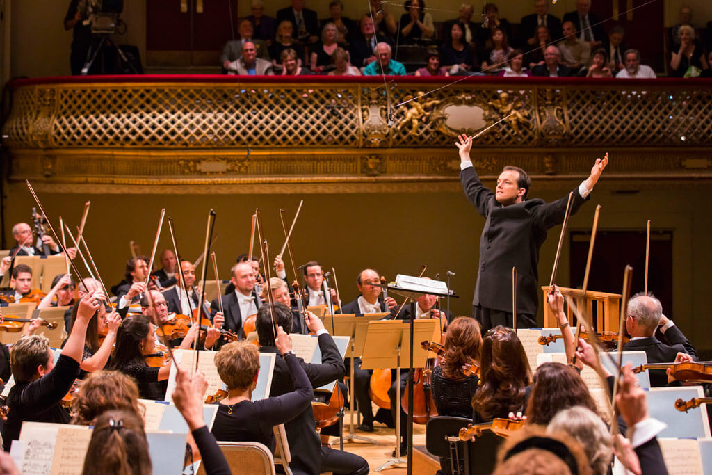 Andris Nelsons conducts the Boston Symphony Orchestra (Photo: Chris Lee)
