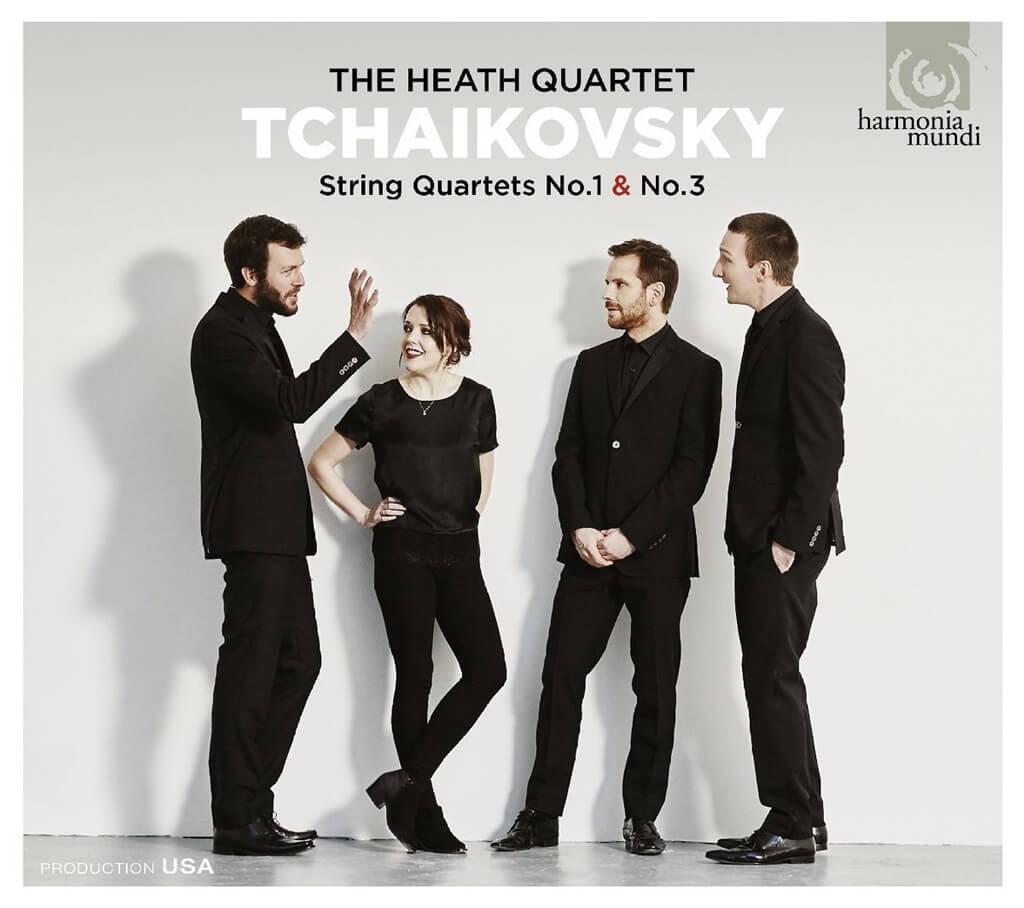 The Heath Quartet | Tchaikovsky String Quartets Nos. 1 & 3 | Harmonia Mundi