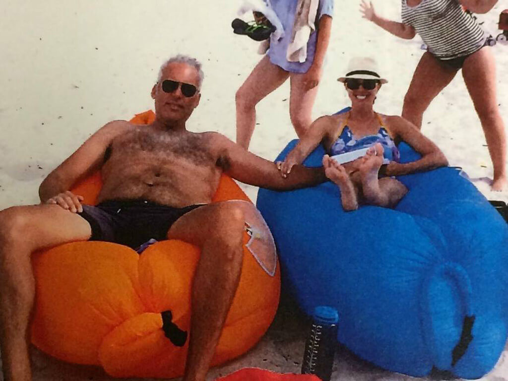 Ex-TSO CEO Jeff Melanson on vacation with partner in Mexico. (Photo via court filing)