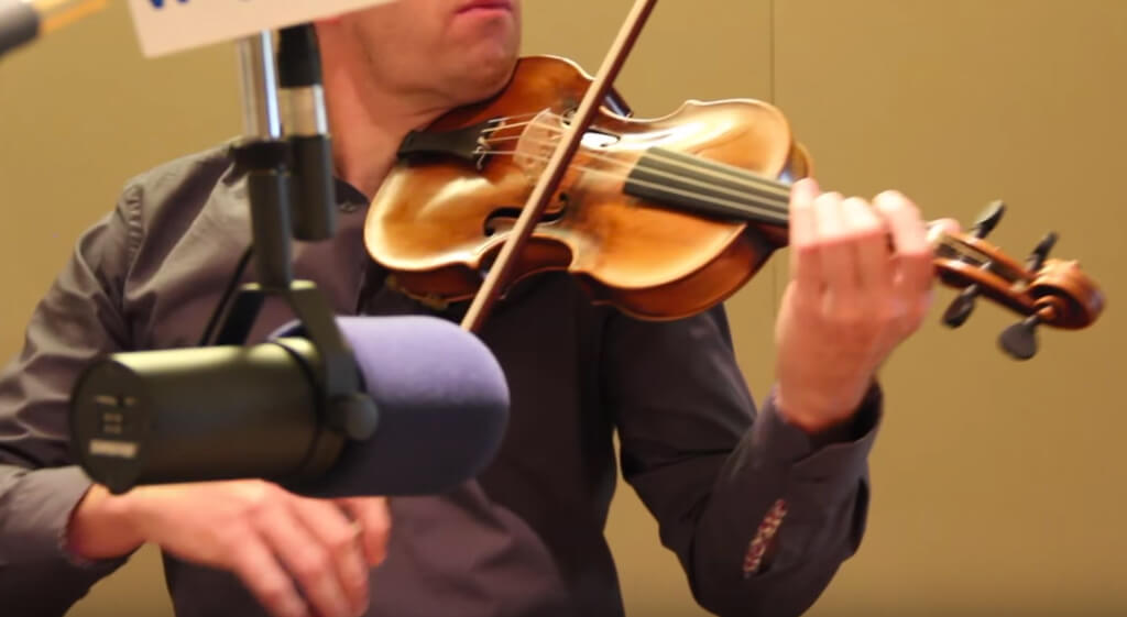 The holy grail of violins: Performer plays Mozart's own violin.