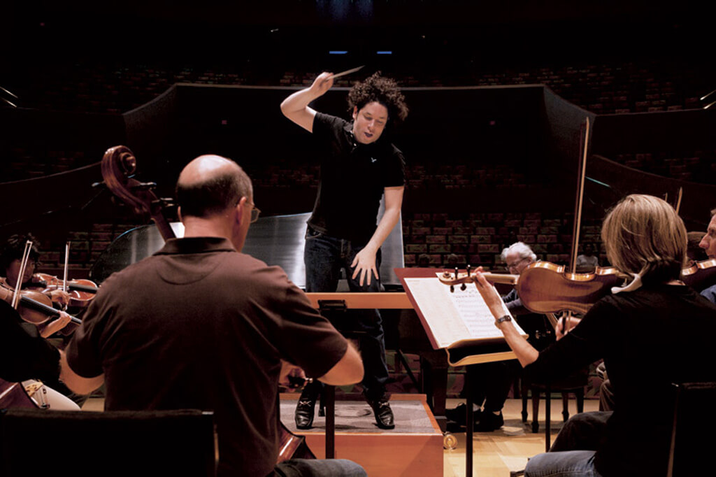 Gustavo Dudamel (Photo courtesy LA Philharmonic )
