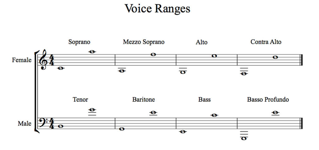 Classical 101 Your Voice Type And How To Find It