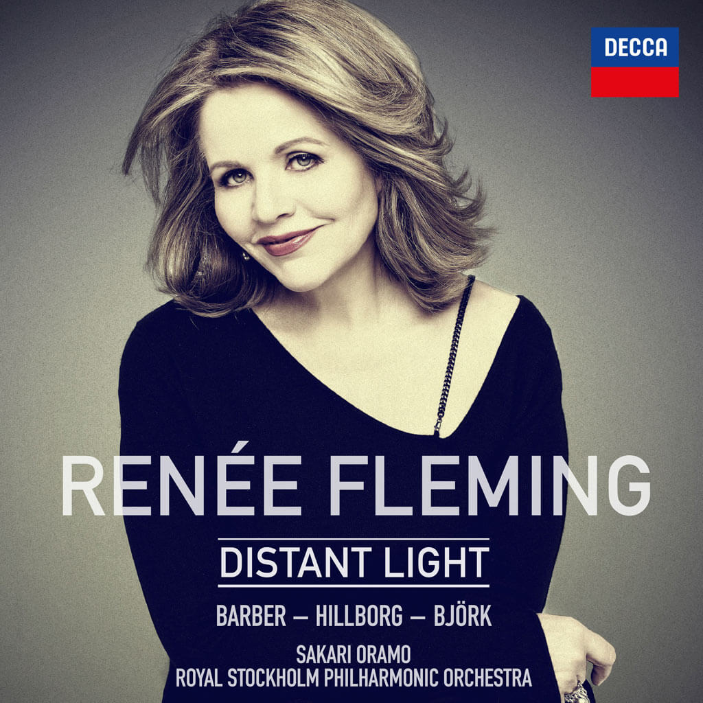 DISTANT LIGHT. Barber: Knoxville: Summer of 1915 Op. 24. Hillborg: The Strand Settings. Björk arr. Hans Ek: Virus/Jóga/All is Full of Love. Renée Fleming, soprano. Royal Stockholm Philharmonic Orchestra/Sakari Oramo. Decca 483 0415. Total Time: 47:56.