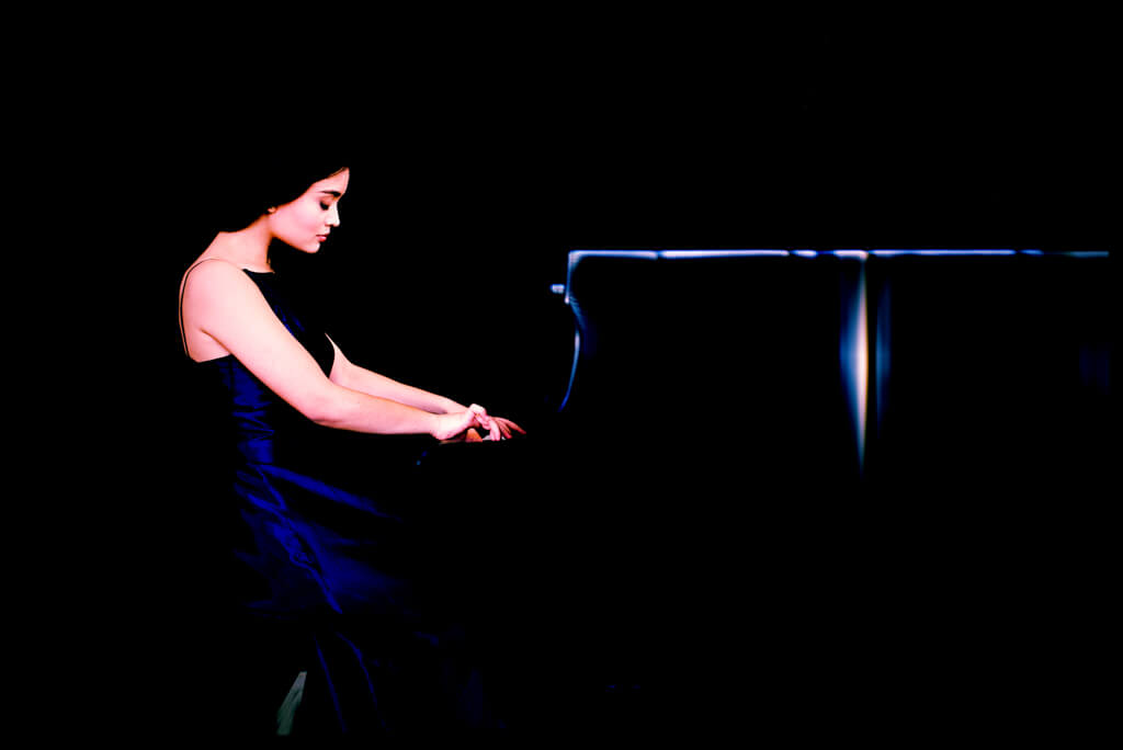 Pianist Charissa Vandikas, one of five winners of the The Glenn Gould School Concerto Competition.