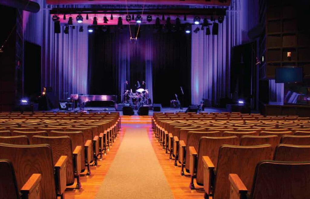 Glenn Gould Studio (Photo courtesy CBC)