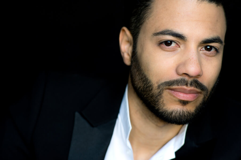 Composer and conductor Samy Moussa (Photo: H. Hoffmann / ed. Durand)