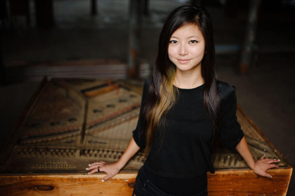 Vancouver-born pianist Vicky Chow, pianist for the Bang on a Can All-Stars appearing in Toronto at the 21C Music Festival — Saturday, May 27, 2017. (Photo: Kaitlin Jane)
