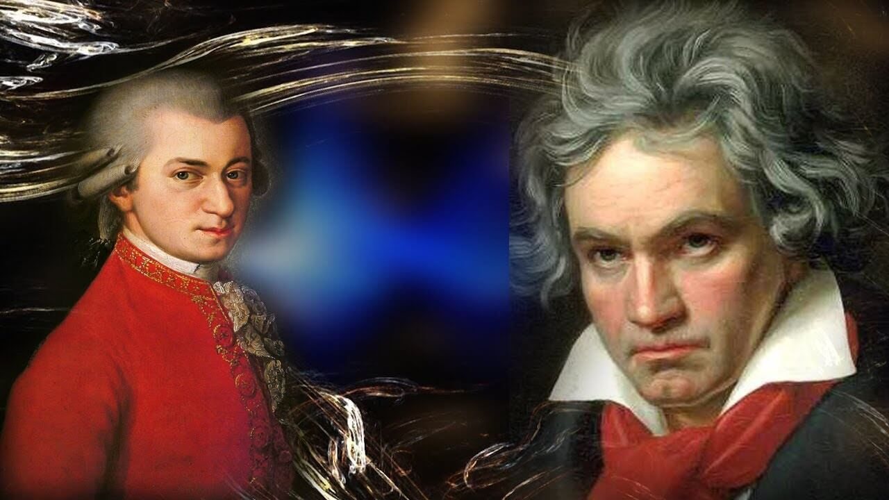 beethoven and mozart Beethoven vs mozart essays ludwig van beethoven and wa mozart are the two most important musicians of their time their pieces are everlasting and will live on forever.