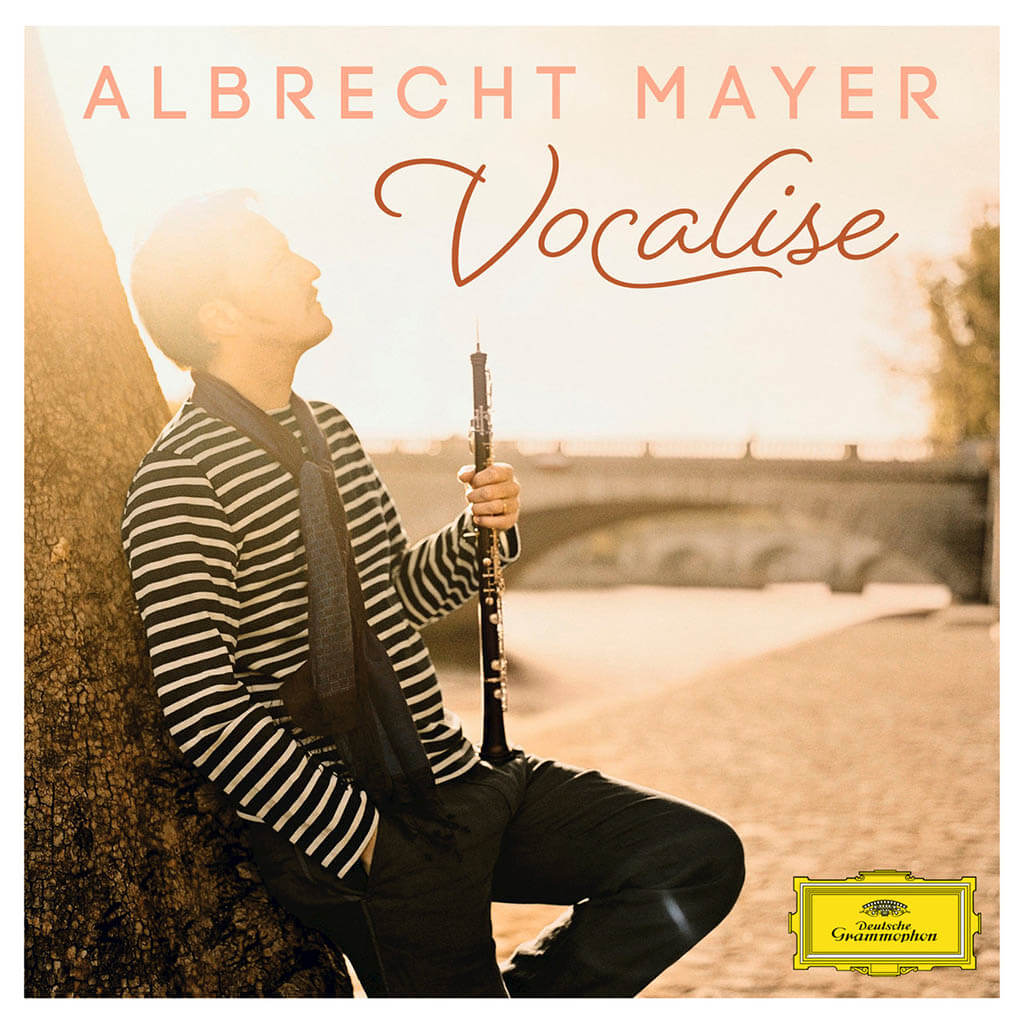 VOCALISE: Works by Bach, Handel, Ravel, Schumann, Mozart, and others. Albrecht Mayer, oboe, oboe d'amore & english horn. Sinfonia Varsovia; Academy of St. Martin in the Fields; Mahler Chamber Orchestra. DG 479 6843. Total Time: 76:33.