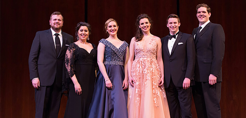 Winners of 2017 Met Opera Auditions (Photo: Fay Fox/Metropolitan Opera)