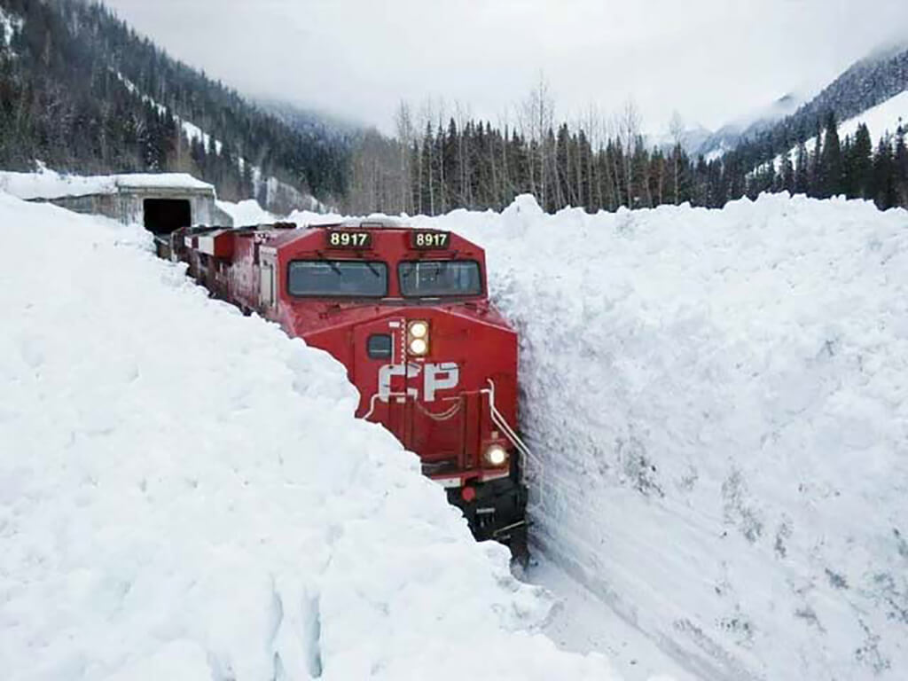 CP train (Photo: Sylvain Hébert)