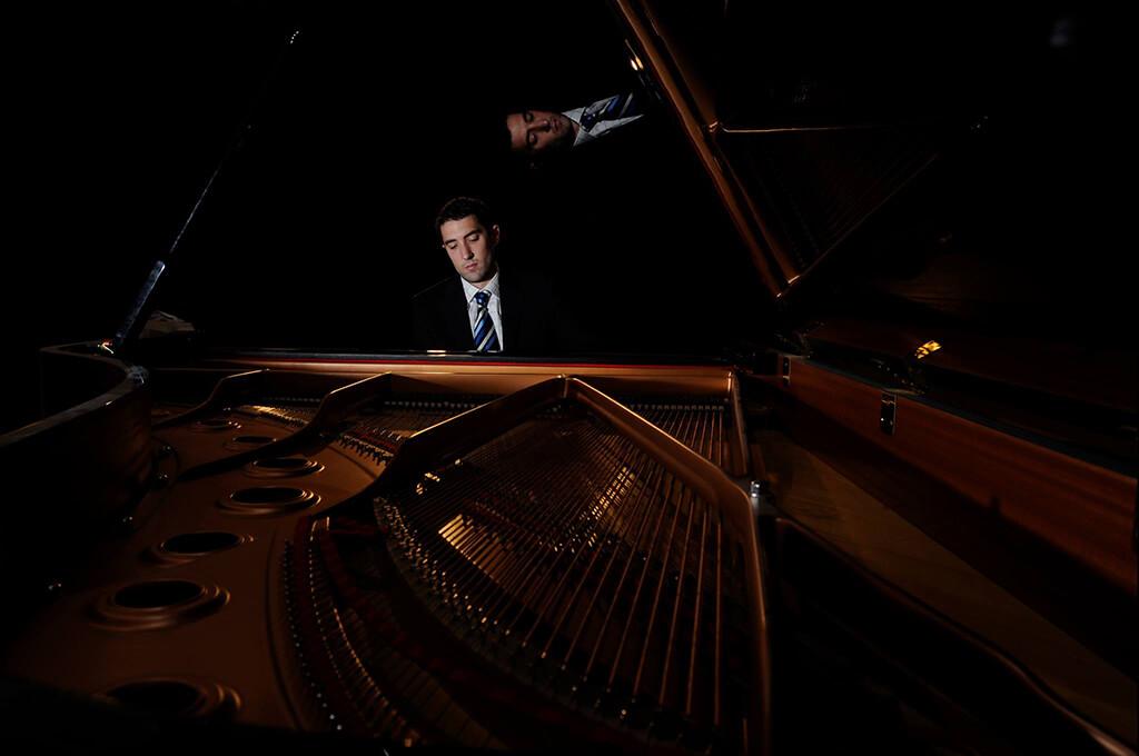 Pianist Pierre-André Doucet (Photo: Alaine Fancy Photography)