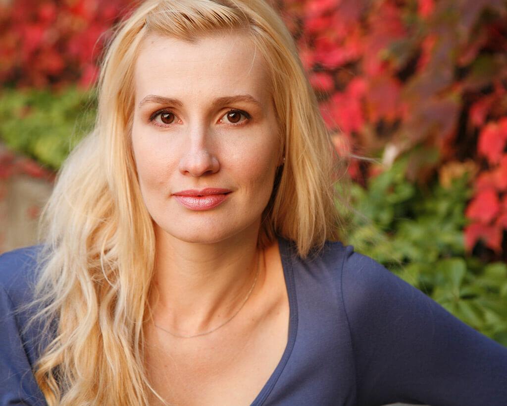 Soprano Natalya Gennadi (Photo: Melissa Leroux)