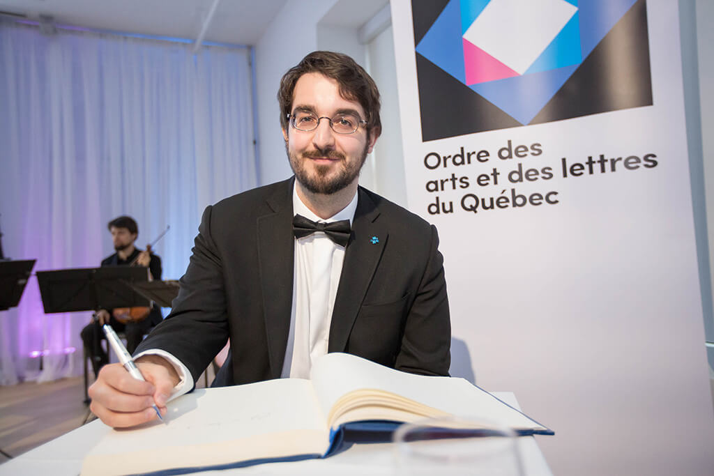 Charles Richard-Hamelin (Photo: Alexandre Claude)