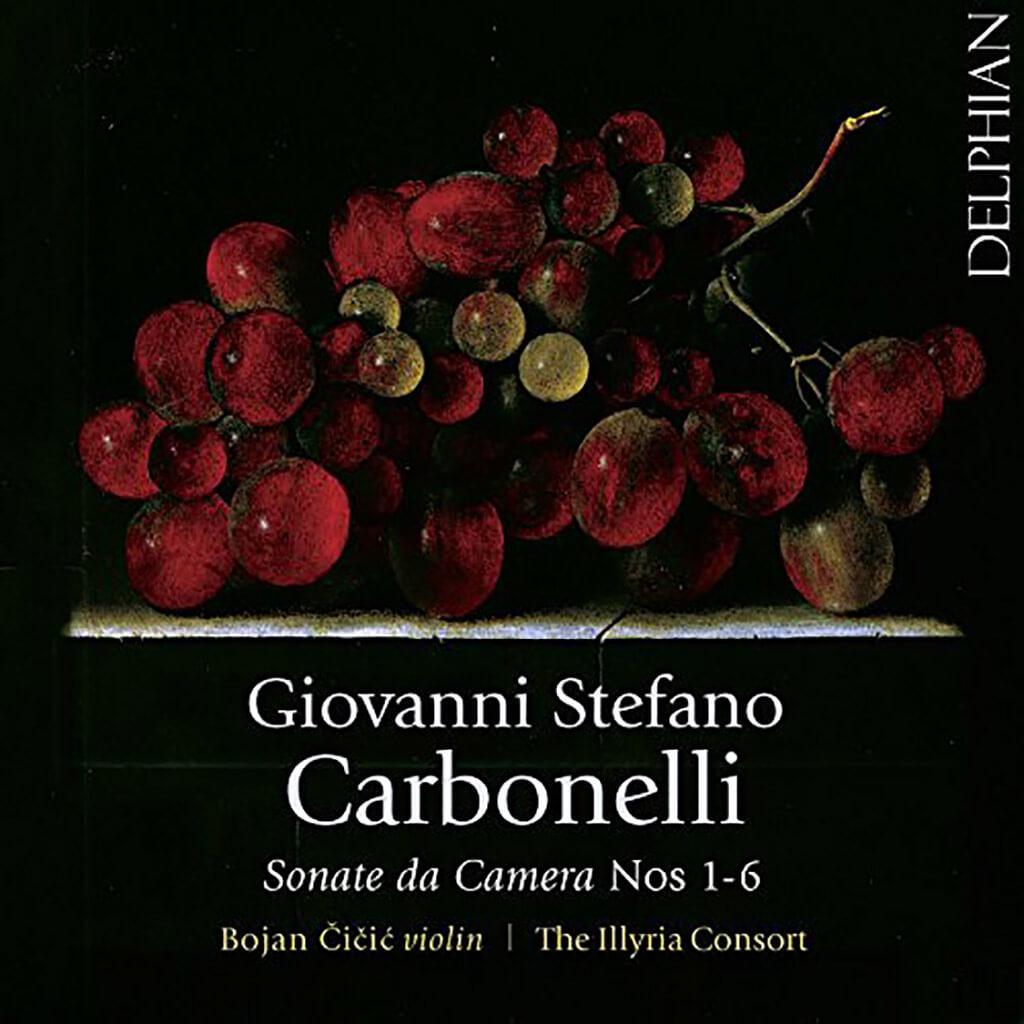Carbonelli: Sonate Da Camera 1-6 (Delphian)