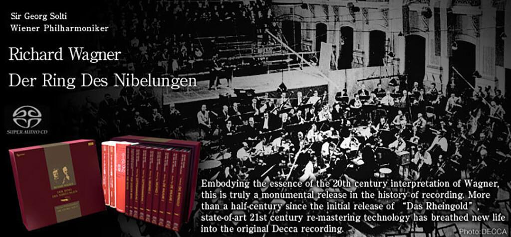 Sir Georg Solti & Wiener Philharmoniker / Richard Wagner Der Ring Des Nibelungen. Esoteric