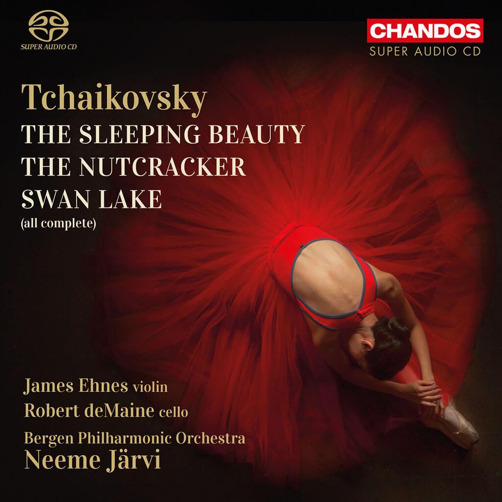 Tchaikovsky: Swan Lake. The Sleeping Beauty. The Nutcracker. James Ehnes, violin. Robert deMaine, cello. Bergen Philharmonic/Neeme Järvi. CHANDOS 5204 (5 CDs). Total Time: 6:32.