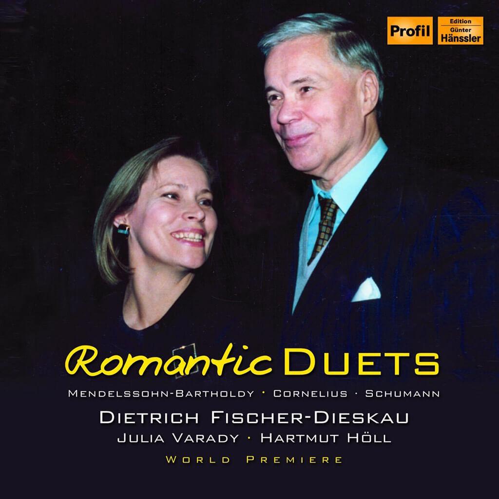 Dietrich Fischer-Dieskau, Julia Varady: Romantic duets (Hänssler Profil)
