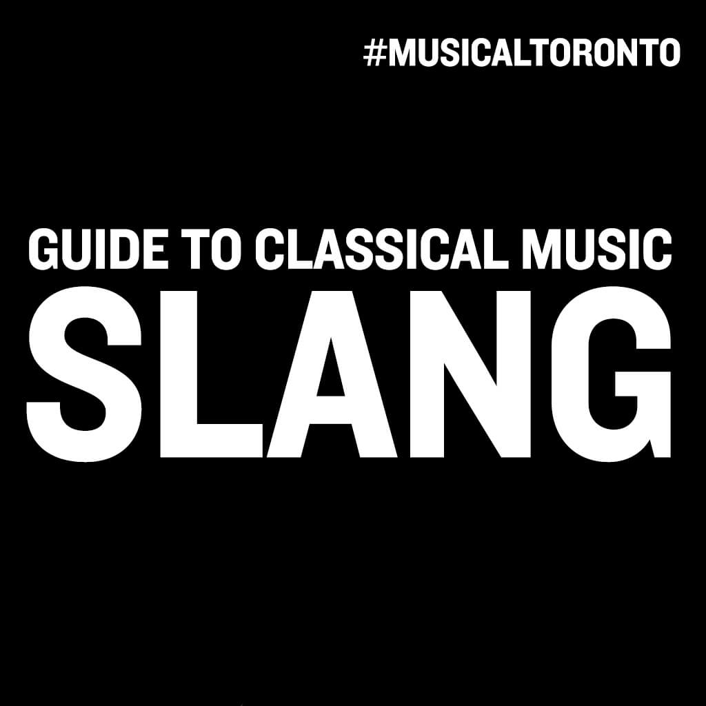MT Guide to Classical Music Slang