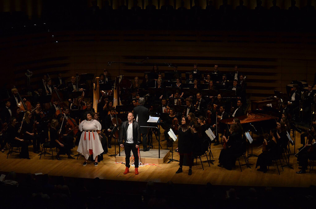 The National Youth Orchestra of Canada presented The Unsilent Project (Photo courtesy NYO Canada)