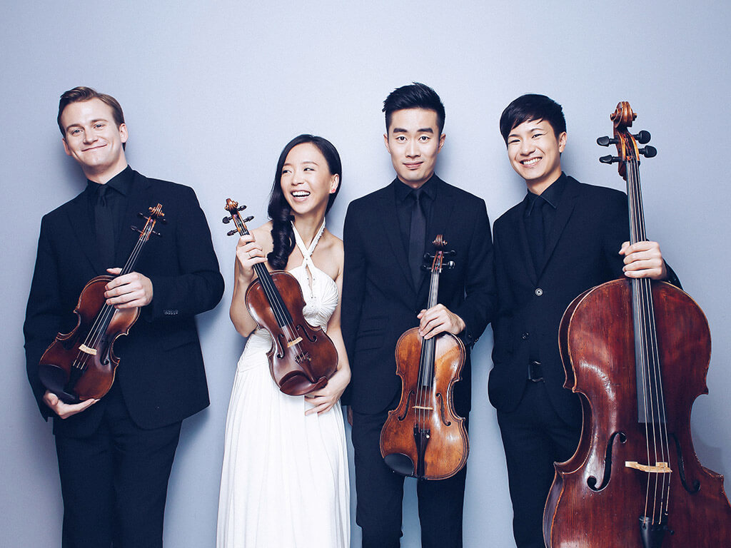 Rolston String Quartet (Photo: Tianxiao Zhang)