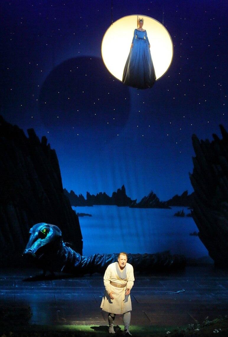 Munich Opera's Die Zauberflöte (Photo: Wilfried Hösl)