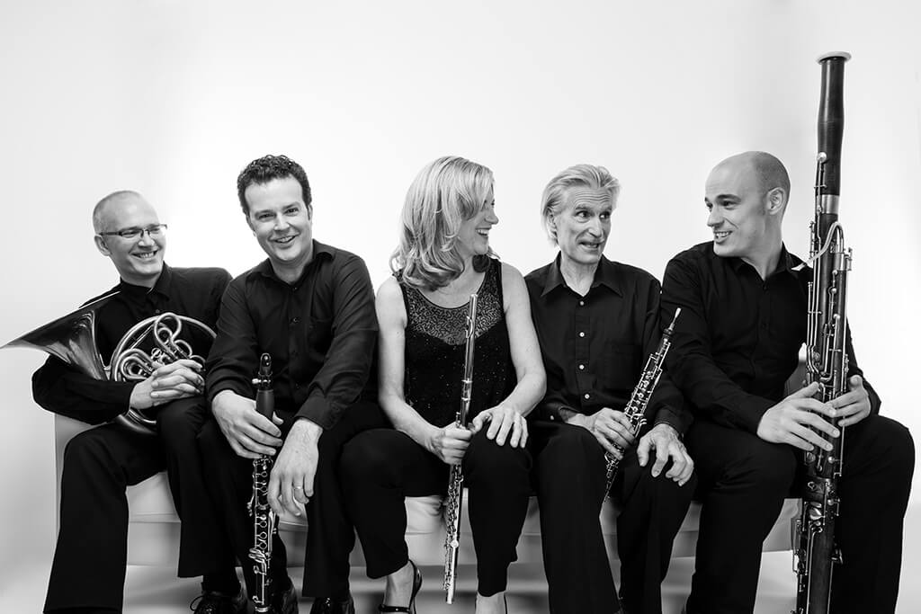Mooredale Concerts presents The Dorian Wind Quintet on October 28, 2018