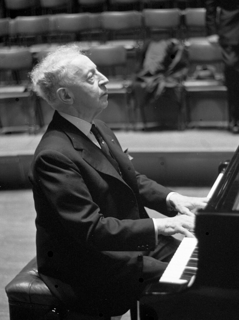 Arthur Rubinstein (Photo courtesy Dutch National Archives)