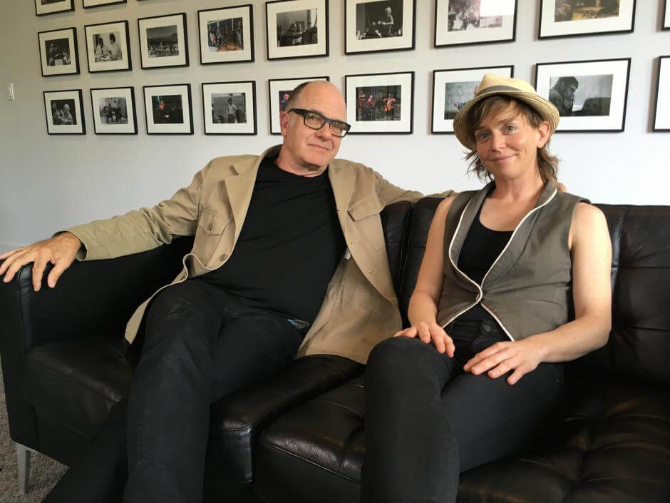 Claire Chase and Steven Schick, Co-Artistic Directors Banff Centre (Photo courtesy Banff Centre)