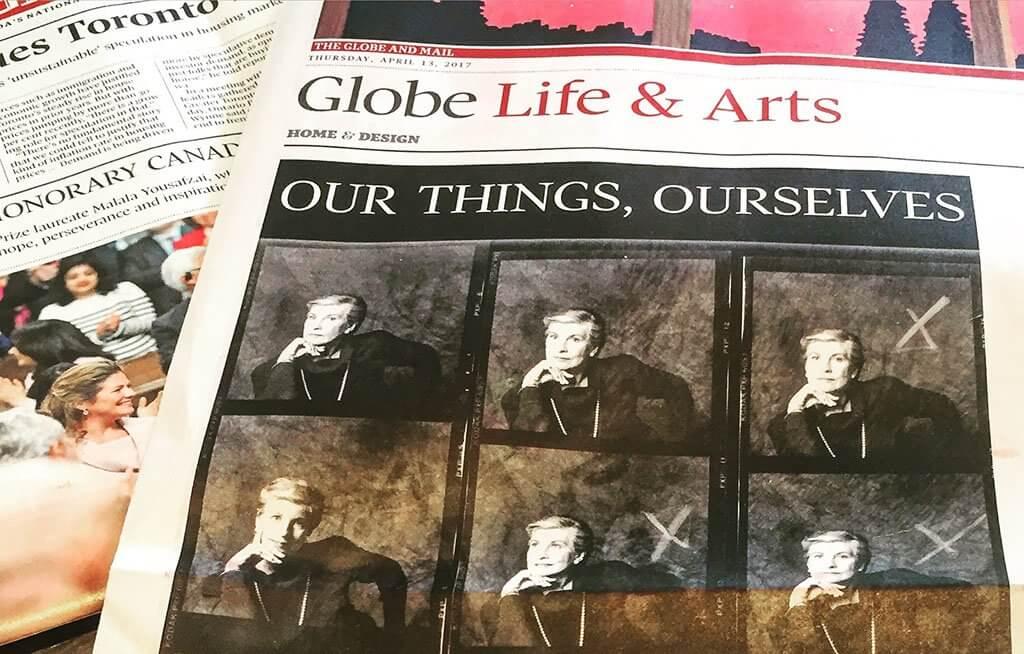 The Globe and Mail (Photo courtesy Karen von Hahn)