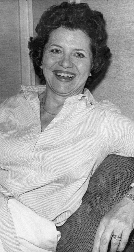 Irene Salemka McGillivray, pictured on August 23, 1980 in Regina. (Photo Roy Antal)