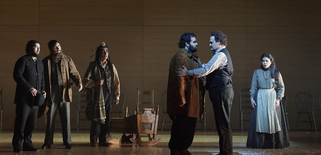 Louis Riel, the opera (Photo: Michael Cooper)