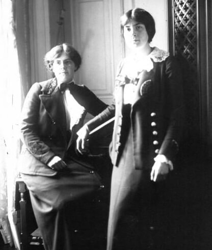 Nadia and Lili Boulanger in 1913 (Photo courtesy Bibliothèque nationale de France)