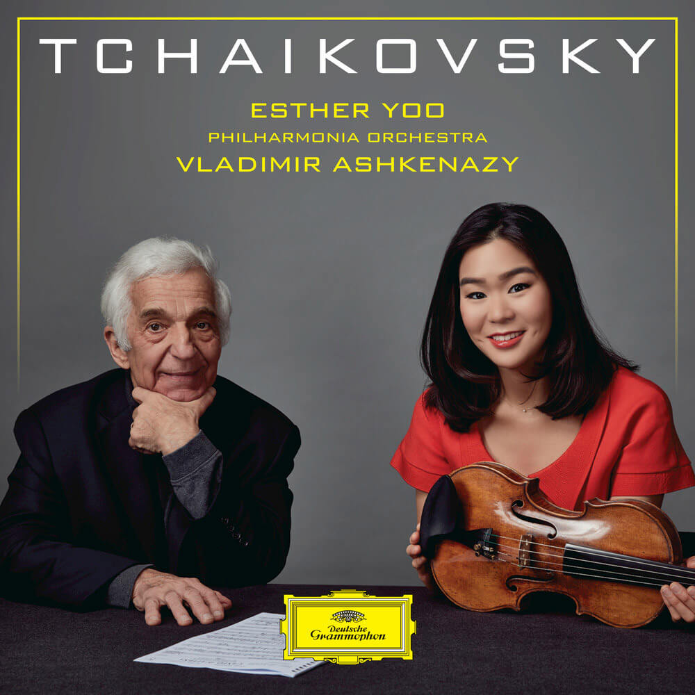 Tchaikovsky: Violin Concerto in D major Op. 35. Swan Lake (excerpts). Sérénade mélancolique Op. 26. Valse-Scherzo Op. 34. Esther Yoo, violin. Philharmonia Orchestra/Vladimir Ashkenazy. DG 481 5032. Total Time: 67:19.