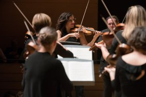 Elisa Citterio's first official concert as music director a showcase for Tafelmusik with a new generation of leadership (Photo: Jeff Higgens)