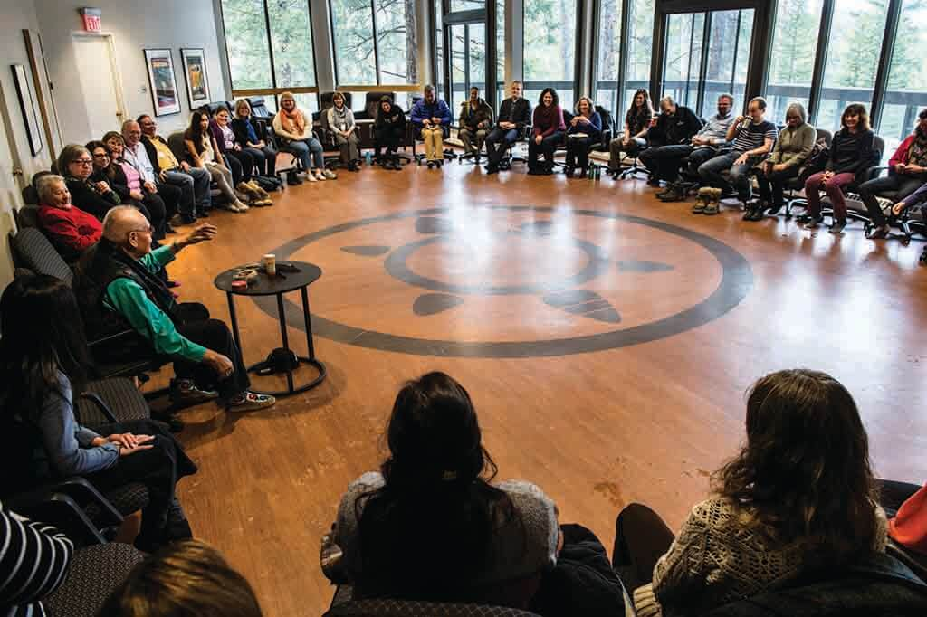 Indigenous Leadership and Management Development Program at Banff Centre. (Photo courtesy Banff Centre)