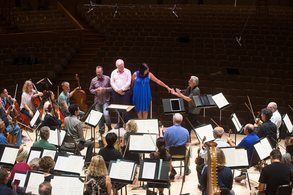 "Bob and Arlene Perly Rae named ""Honorary Musicians"" of the Toronto Symphony. (Photo: Jag Gundu)"