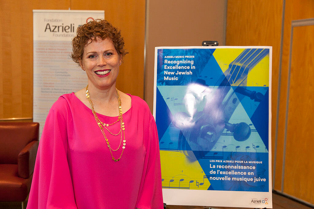 Kelly-Marie Murphy, winner of the 2018 Azrieli Commission for Jewish Music. (Photo courtesy Azrieli Foundation)