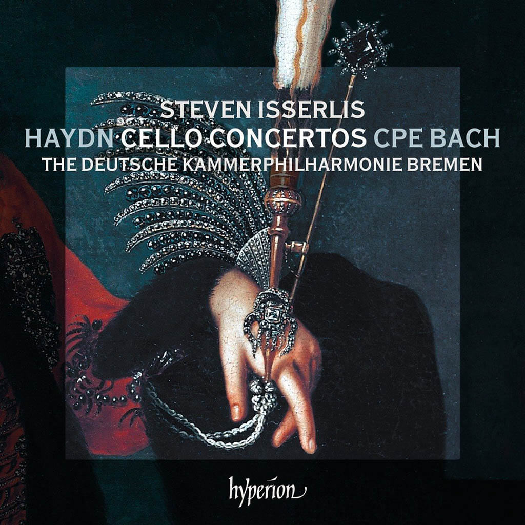 The latest release by cellist Steven Isserlis takes on two well-known Haydn concertos plus three works touched by Haydn's influence.