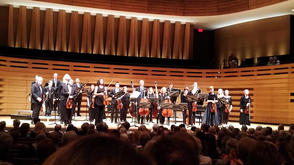 Elisa Citterio and Tafelmusik Baroque Orchestra at Koerner Hall. (Photo: John Terauds)