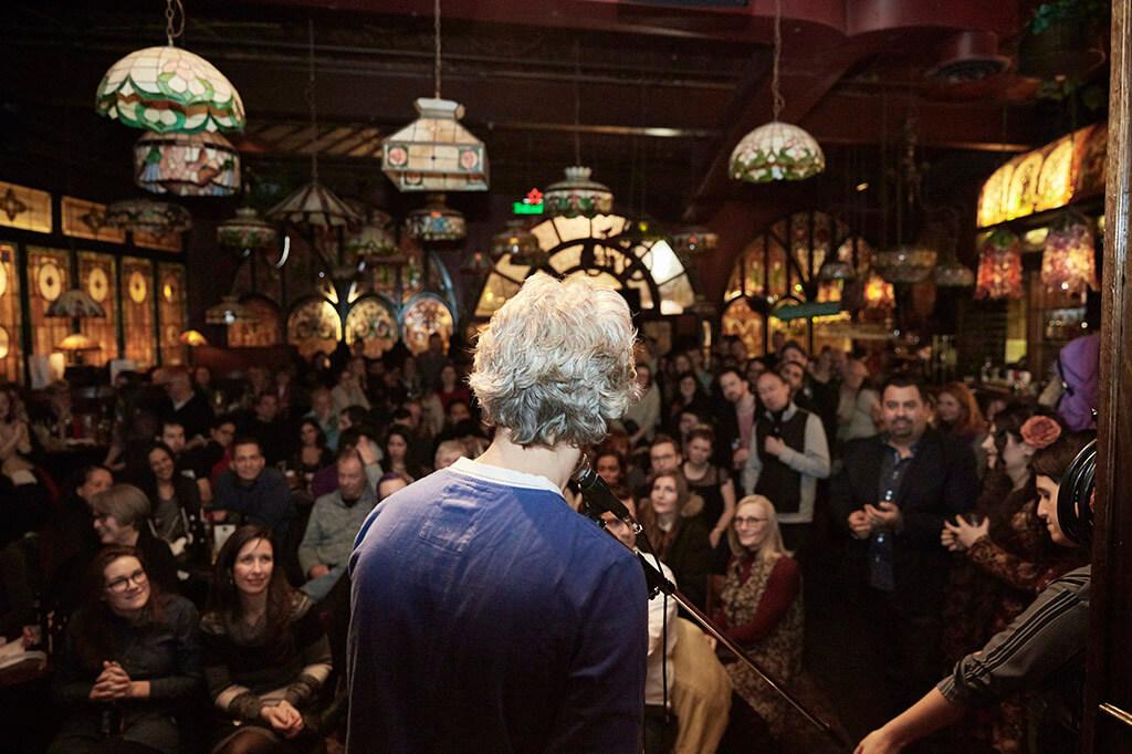 Against the Grain Opera Pub at Amsterdam Bicycle Club (Photo: Darryl Block)