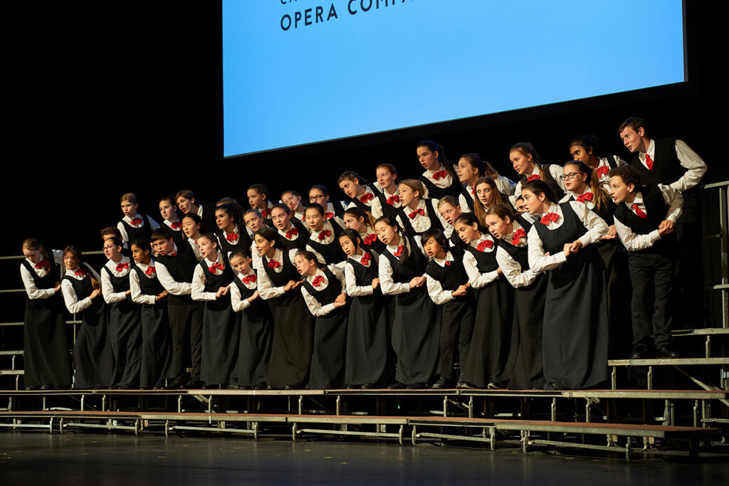 Canadian Children's Opera Company. (Photo courtesy of the CCOC)