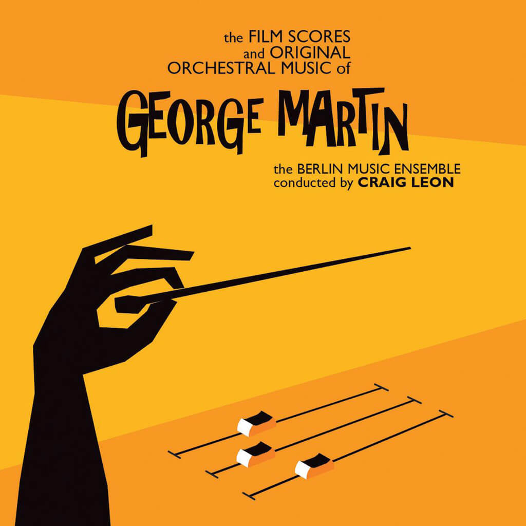 George Martin: Film scores and orchestral music (Atlas Realisations/Pias Classics)