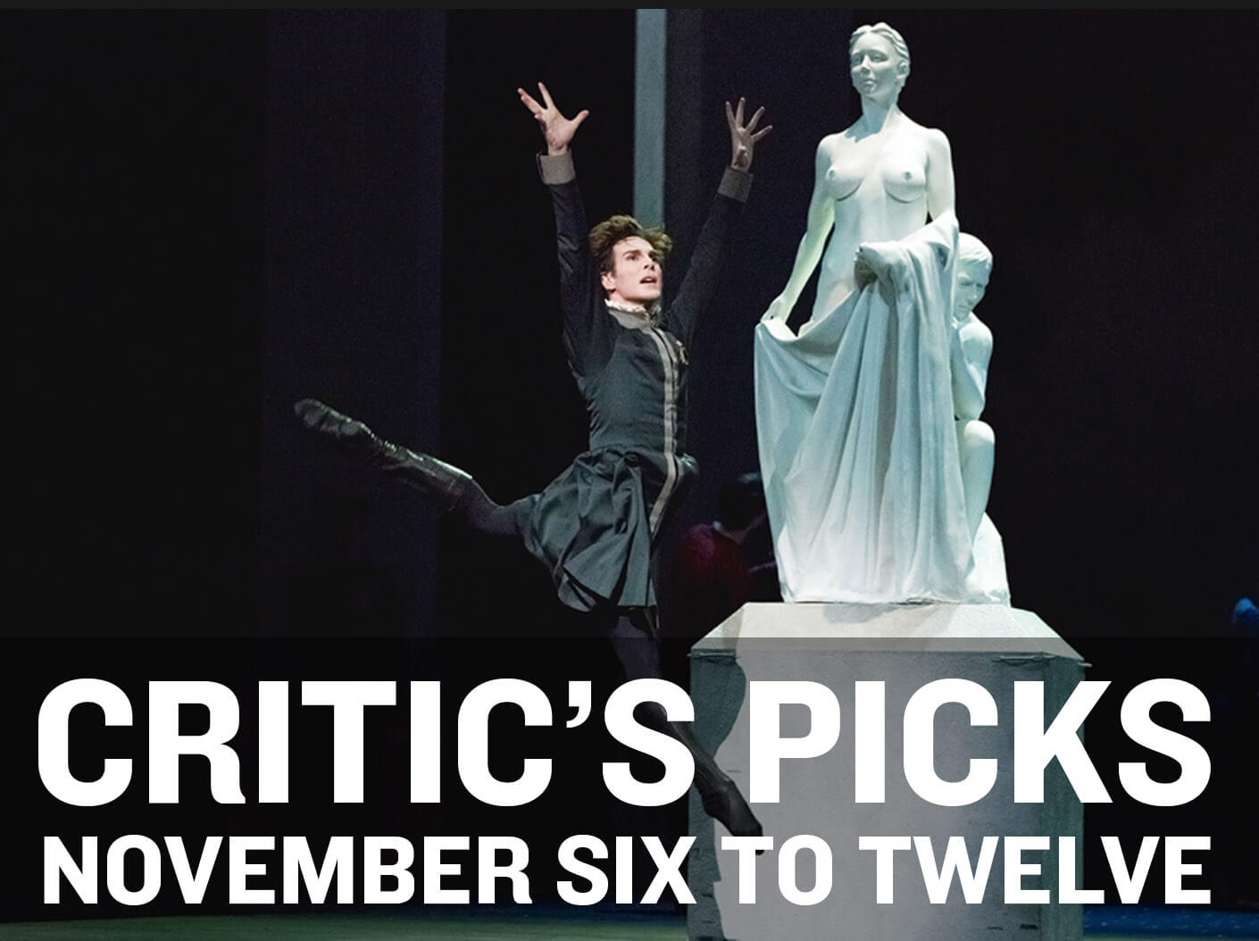 Classical music and opera events happening in and around Toronto for the week of Nov. 6 to 12.