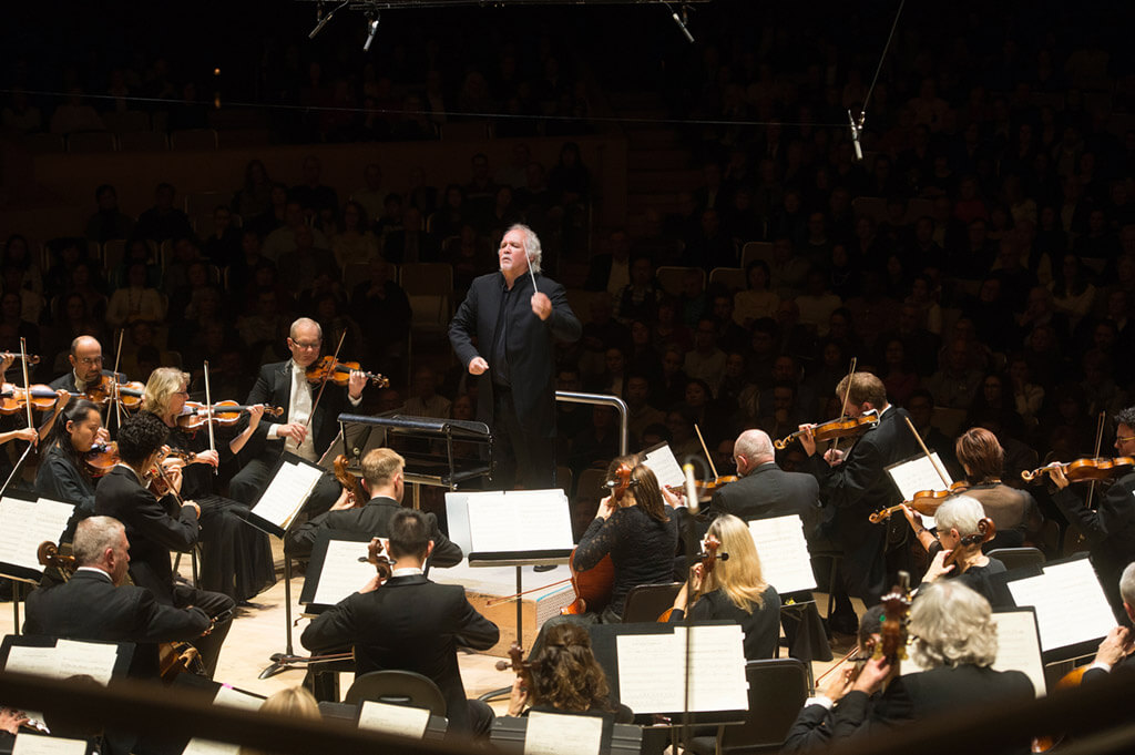 Donald Runnicles guest conducts the Toronto Symphony through Mahler's 6 (Photo: Jag Gundu)